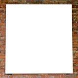 blanc de mur de trame de brique Image stock