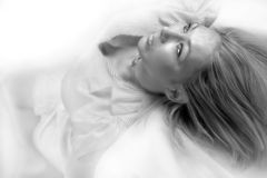 Blanc de neige Photo libre de droits