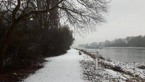 Blanc de neige Images libres de droits