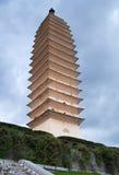 blanc de pagoda Photographie stock libre de droits