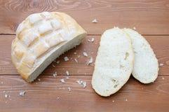 blanc de pain de pain photographie stock libre de droits
