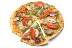 blanc de pizza de fond photo libre de droits