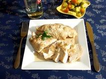 Blanc de poulet image stock
