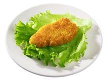 Blanc de poulet frit photo stock