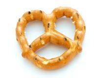 blanc de pretzel Image libre de droits