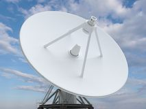 Blanc de radar Photographie stock libre de droits