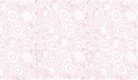 Blanc de rose de modèle de Pâques illustration de vecteur