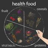 blanc de studio de santé de nourriture de flocons d'avoine de fond macro Photos libres de droits