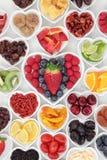 blanc de studio de santé de nourriture de flocons d'avoine de fond macro Image libre de droits