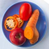 blanc de studio de santé de nourriture de flocons d'avoine de fond macro photographie stock libre de droits