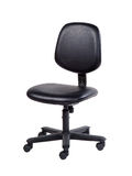 blanc de sujet de bureau d'isolement par meubles de présidence de fond Image stock