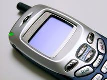 Blanc de téléphone portable image stock