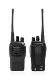 Blanc de talkie - walkie de radios portatives Image stock