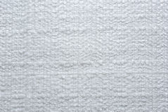 blanc de textile Photos libres de droits