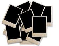 Blanc de trame grunge de photo Photographie stock libre de droits
