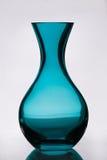 blanc de vase d'isolement par glace Photographie stock
