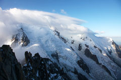 Blanc di Mont Immagini Stock