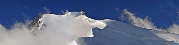 blanc du mont tacul 库存图片