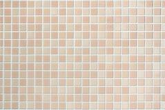 Blanc et écrémez photo de haute résolution de mur de tuile la vraie ou bric Photo libre de droits