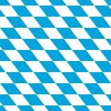 Blanc et bleu bavarois Photographie stock
