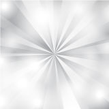 Blanc et Gray Sunburst Background Photographie stock libre de droits