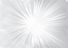 Blanc et Grey Vector Background Photos libres de droits