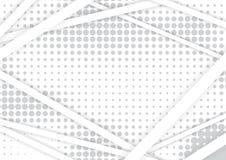 Blanc et Grey Vector Background illustration de vecteur