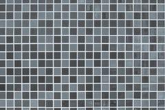Blanc et gris photo ou brique de haute résolution de mur de tuile la vraie Image stock