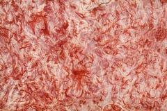 Blanc et rouge sans fin Photographie stock