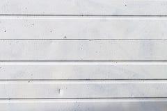 Blanc extérieur de panneau en métal avec la texture images libres de droits