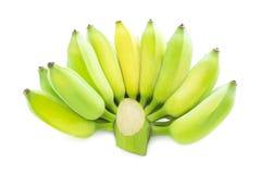 blanc frais de banane de fond Photo stock