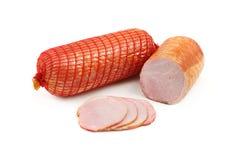 blanc fumé peu profond de viande du fond DOF Photos stock