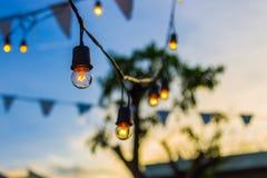 blanc léger d'isolement par ampoules Images libres de droits