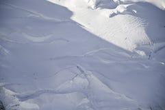 blanc mont视图 库存照片