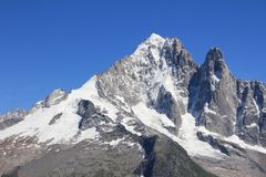 blanc mont Zdjęcia Stock