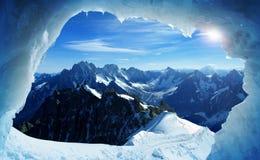 blanc mont Στοκ Εικόνες