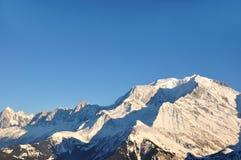blanc mont Zdjęcie Royalty Free