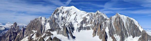 blanc mont Obraz Stock