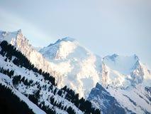 blanc mont Zdjęcie Stock