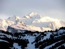 blanc mont Obrazy Stock