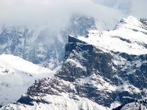 blanc mont Obrazy Royalty Free