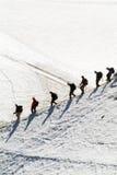 blanc mont Στοκ εικόνα με δικαίωμα ελεύθερης χρήσης