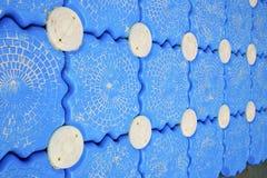 Blanc phangan d'île de baie de lomprayah de pilier de kho abstrait Photographie stock