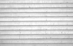 Blanc, planches en bois rustiques Photos libres de droits