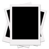 Blanc polaroïd d'illustration Images libres de droits