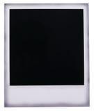 Blanc polaroïd de film Photo stock