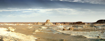 blanc pustyni Fotografia Royalty Free