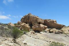 blanc rouge de roche de formations photo stock