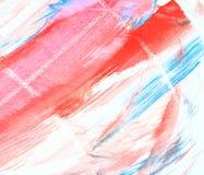 blanc rouge de texture Photo libre de droits
