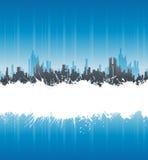 blanc urbain de piste d'éclaboussure de fond illustration de vecteur